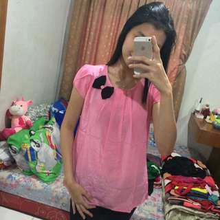 Pink muda top