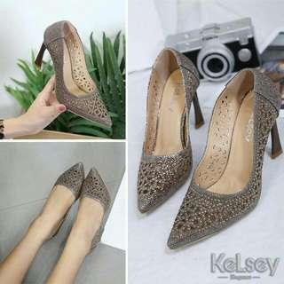 Sepatu KELSEY 555-4KLS Heels 9.5cm