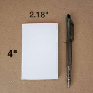 """Memo Pad - 2.18"""" x 4"""""""
