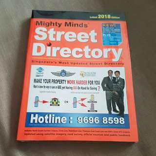 Singapore Street Directory Latest 2018 edition
