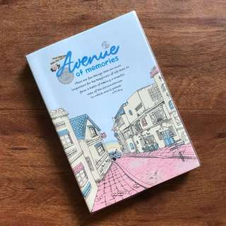Avenue of Memories Undated Planner Notebook