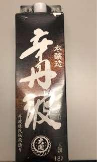 Oozek Sake 辛丹波 1.8L (全新)