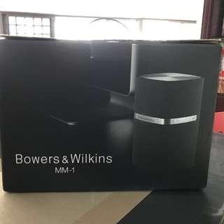 B&W MM-1 Speakers