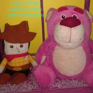 Toy Story Woody and Lotso