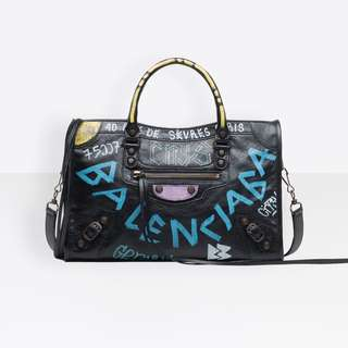 BALENCIAGA GRAFFITI CLASSIC CITY S 代購
