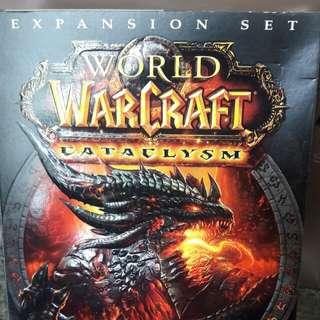 Preloved PC World WarCraft Catalysm Expansion Set