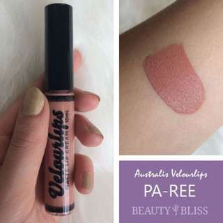 Australis Velourlips Matte Lip Cream PAREE
