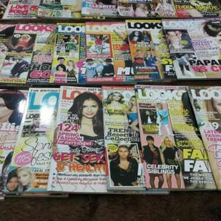 Majalah Looks Bekas Kondisi Mulus