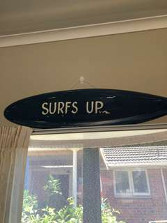 Surfs up sign