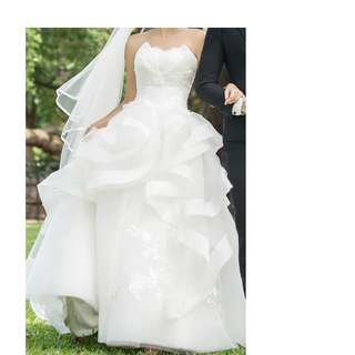 Beautiful French style wedding gown