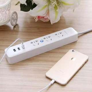 3 Gang and USB Socket Extension