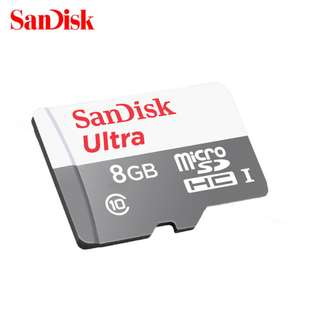 MEMORY CARD MICRO SD SANDISK 8GB CLASS 10