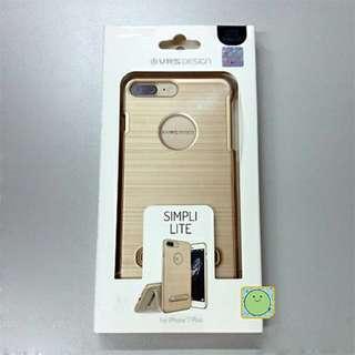 韓國正品iPhone8 Plus VRS 金色支架手機殼