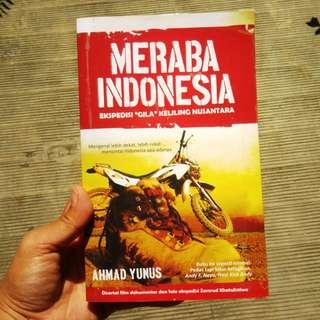 Meraba Indonesia - Ekspedisi gila keliling Indonesia (buku bekas, ori)