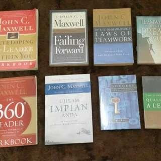 Paket 8 Buku Import John C Maxwell Maxwell