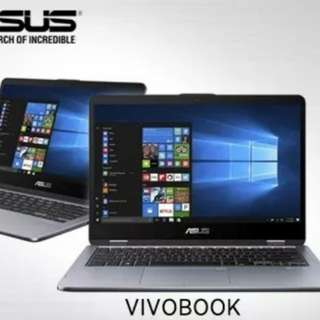 Asus Vivobook Flip 2in1/8th gen/8gb ram/1tb hdd + 128gb ssd/Free Asus Pen