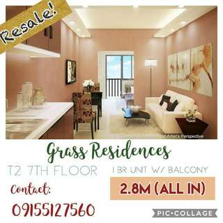 Resale in Grass Residences