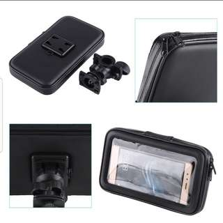 Phone pouch/holder for motorcycle