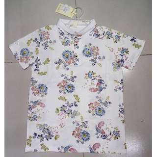 Floral Polo Shirt for Kids