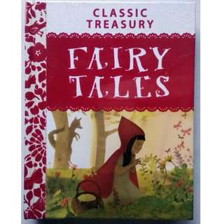 Classic Treasury - Fairy Tales - Hardcover Story Book