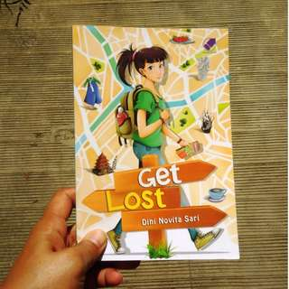 Get Lost (buku bekas, ori, novel traveling)