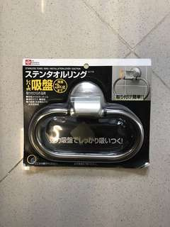Stainless Towel Ring from Japan