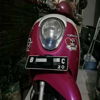 Honda scoopy carbu