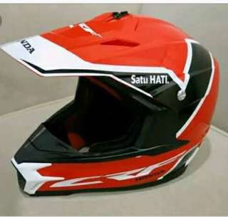 Helm cross/trail ORI CRF150L Special Edition.. Termurah!!