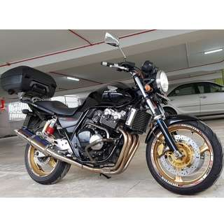 Honda CB400 Super4 Spec3 COE Till 12 Sep 2027