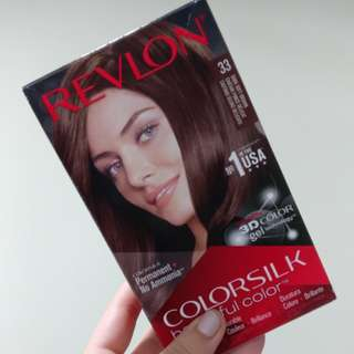 Revlon Dark Soft Brown Hair permanent dye