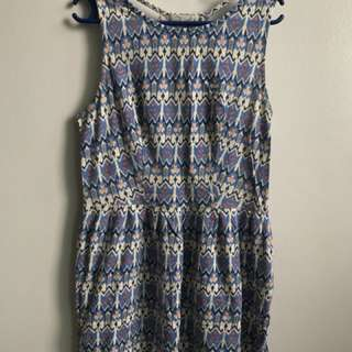 Just G blue summer dress