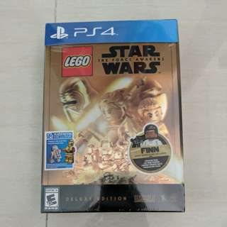 Lego star wars deluxe edition PS4/Xbox one with polybag 30277