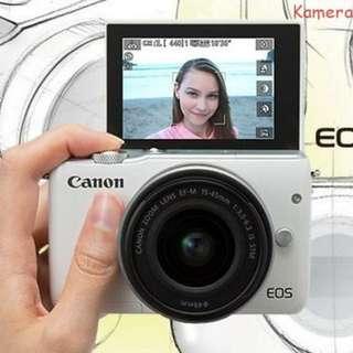 Camera Canon M10 Bisa dicicil tanpa kartu credit Termurah (nikon,sony)