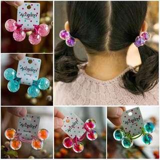 Little Kid Hair Tie - GHR760  Color: as attach photo