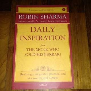 Robin Sharma - Daily Inspiration