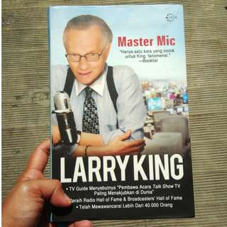 Larry King (buku bekas, ori, hard cover)