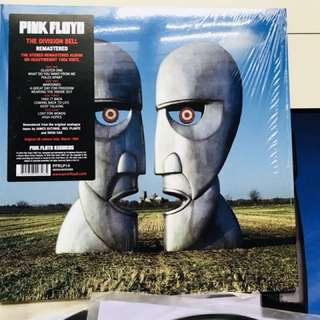 Pink Floyd The Division Bell lp record