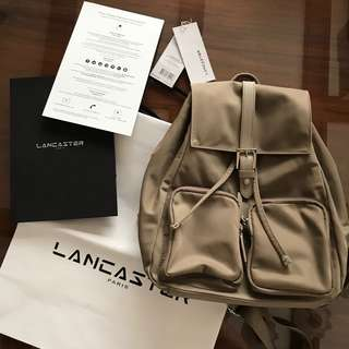Preloved and authentic Lancaster Paris backpack