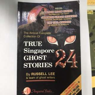 True Singapore Ghost Stories Books 24