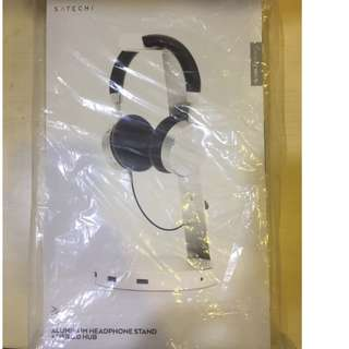 Satechi Aluminum USB Headphone Stand Holder