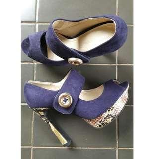 Sepatu Pesta marie claire 15cm murah