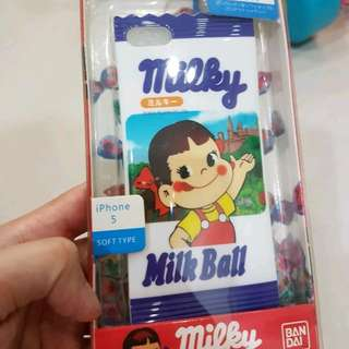 MILKY CASE FOR IPHONE 5/5s/SE