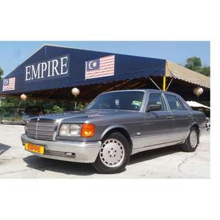 1991/96 MERCEDES BENZ 300SE 2.6 ( A ) LIMITED EDITION !! MODEL W126 !! ( JXX 8081 ) 1 CAREFUL OWNER !!