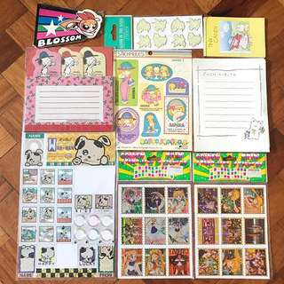 Stickers And Notepad 9-Set