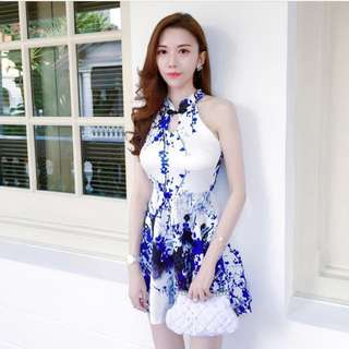 Oriental Cheongsam Dress