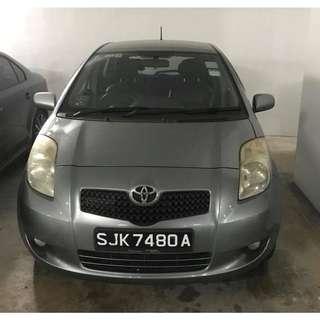 Toyota Yaris (UBER & GRAB Enabled)
