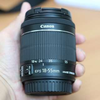 CANON EF-S 18-55mm f3.5-f5.6 IS STM (Kit Lens)