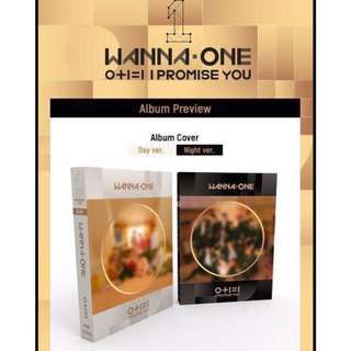 [NON-PROFIT G/O] WANNA ONE 0+1=1 I PROMISE YOU