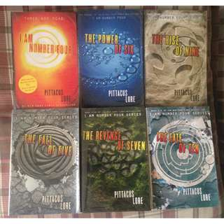 Lorien Legacies Book 1-6