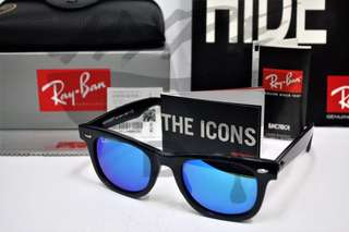 Authentic Ray Ban Wayfarer RB2140 901/17 50MM Medium